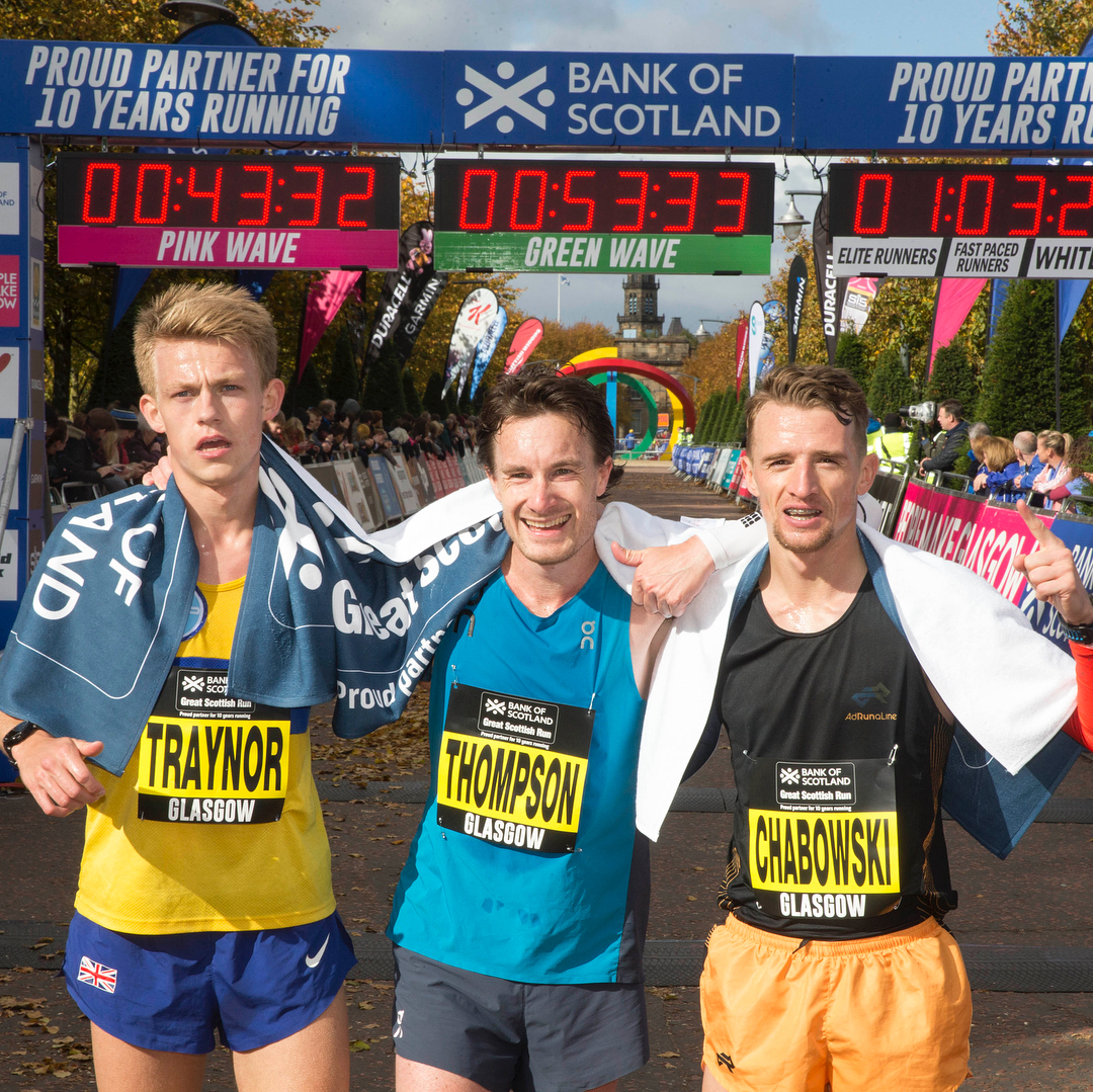 Read more about the article Glasgow Half Marathon – 62:24 PB !!!